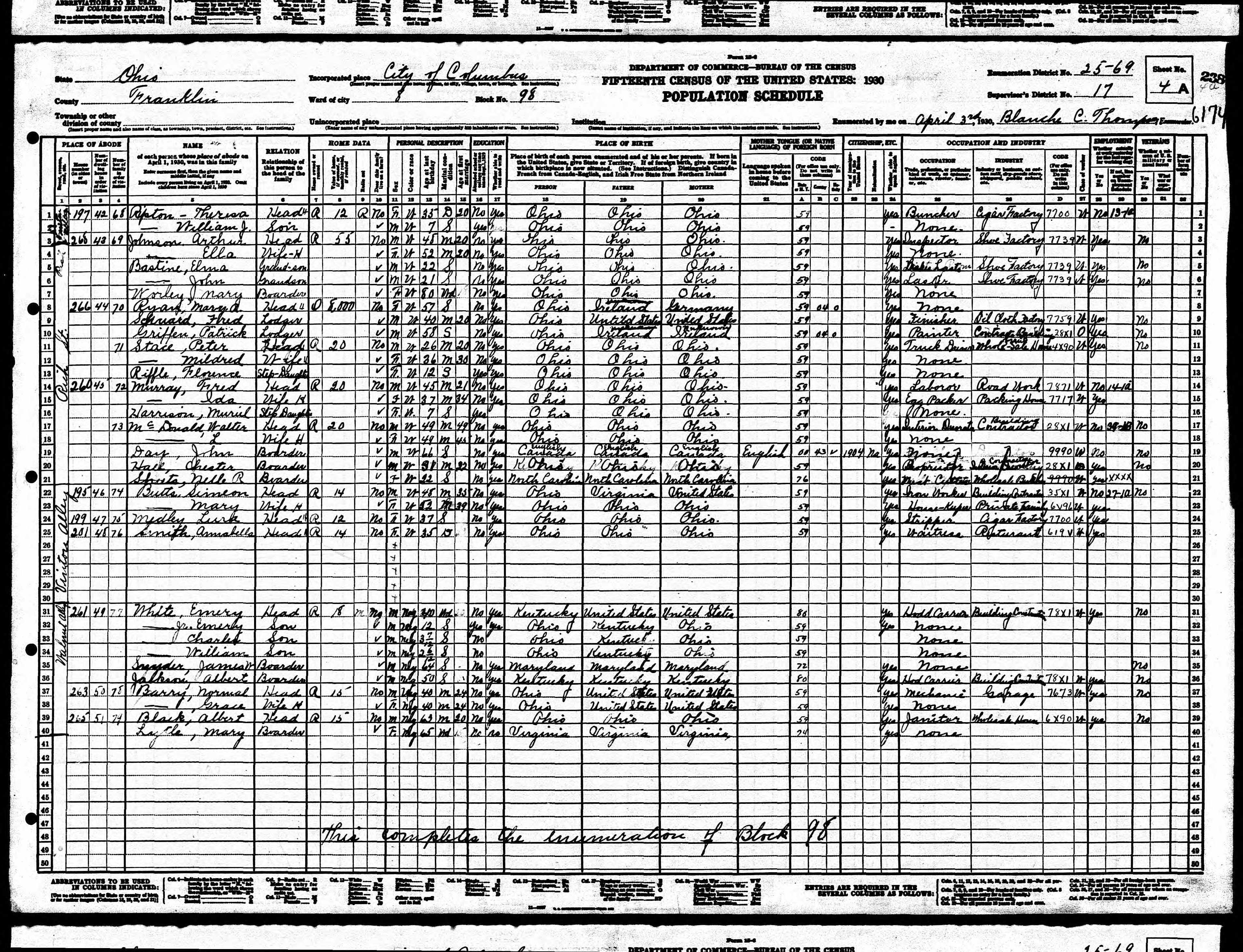 Nazdar digital genealogy archives relatives of the eicher family marriage certificate 1936 marriage to jemima jane decker on september 4 1936 in champaign county ohio obituary page 1 1962 published in the wooster aiddatafo Choice Image